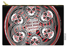 Spinning Celtic Skulls Carry-all Pouch