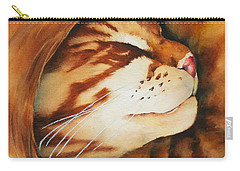 Spiral Cat Carry-all Pouch