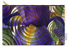 Spiral Iris Carry-all Pouch