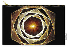 Spiral Scalar Carry-all Pouch by Jason Padgett