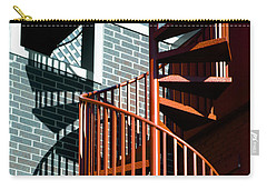 Spiral Stairs - Color Carry-all Pouch