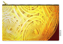 Spiral Sun By Jammer Carry-all Pouch by First Star Art