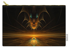 Spirit In The Sky Carry-all Pouch by GJ Blackman