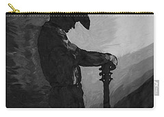 Spirit Of A Cowboy Carry-all Pouch