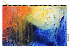 Spirit Of Life - Abstract 7 Carry-all Pouch by Kume Bryant
