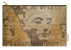 Spirit Of Nefertiti Egyptian Queen   Carry-all Pouch