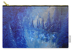 Carry-all Pouch featuring the painting Spirit Pond by Jacqueline Athmann
