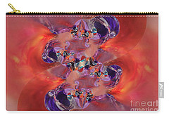 Spiritual Dna Carry-all Pouch by Margie Chapman