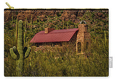 Carry-all Pouch featuring the photograph Spiritual Oasis by Mark Myhaver