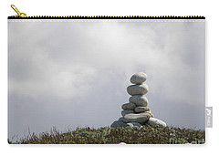 Spiritual Rock Sculpture Carry-all Pouch