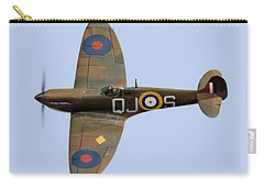 Spitfire Mk 1 R6596 Qj-s Carry-all Pouch by Gary Eason