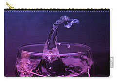 Carry-all Pouch featuring the photograph Splash by Aaron Berg
