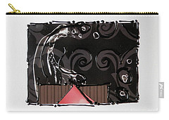 Splash Of Black Carry-all Pouch