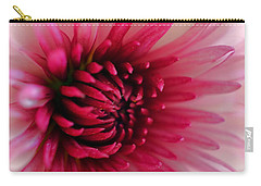 Splash Of Pink Carry-all Pouch by Deb Halloran