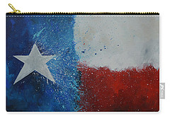 Splash Of Texas Carry-all Pouch by Patti Schermerhorn