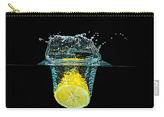 Splashing Lemon Carry-all Pouch
