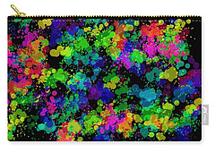 Splatter Carry-all Pouch by Mark Blauhoefer