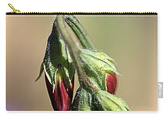 Carry-all Pouch featuring the photograph Split Pea by Joy Watson