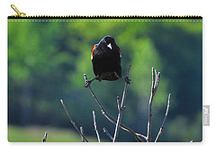 Carry-all Pouch featuring the photograph Splits by Adam Olsen