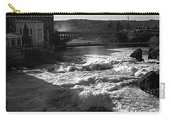 Spokane Falls Spring Flow Carry-all Pouch