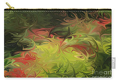Carry-all Pouch featuring the digital art Jardin De Picasso  by The Art of Alice Terrill