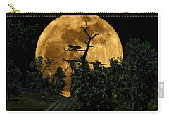 Spooky Road Carry-all Pouch
