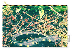 Spotted Salamander Retro Carry-all Pouch