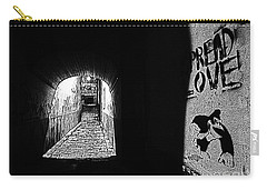 Spread Love Carry-all Pouch by Andy Prendy