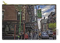 Spring And Mulberry - Street Scene - Nyc Carry-all Pouch