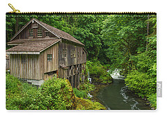 Spring At Cedar Creek Grist Mill Carry-all Pouch by Patricia Davidson