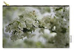 Carry-all Pouch featuring the photograph Spring Bloosom by Sebastian Musial