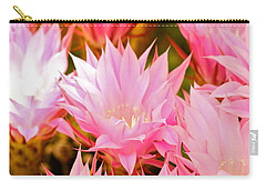 Spring Cactus Carry-all Pouch by Michael Cinnamond