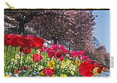 Carry-all Pouch featuring the photograph Spring Colours - Edinburgh by Phil Banks