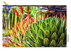 Spring Desert In Bloom Carry-all Pouch