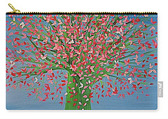 Spring Fantasy Tree By Jrr Carry-all Pouch by First Star Art