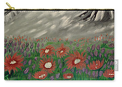Spring Flowers In The Mountians Carry-all Pouch