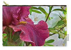 Carry-all Pouch featuring the photograph Spring Glow by Larry Bishop