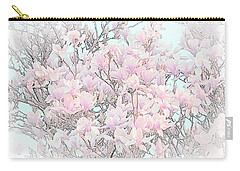 Carry-all Pouch featuring the photograph Spring Has Arrived I by Susan  McMenamin