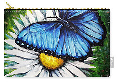 Carry-all Pouch featuring the painting Spring Has Sprung by Shana Rowe Jackson