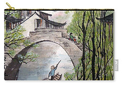 Spring In Ancient Watertown Carry-all Pouch