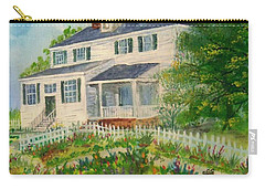 Spring In Colonial Williamsburg- Cole House Carry-all Pouch