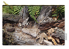 Carry-all Pouch featuring the photograph Spring In Knockan Hill by Cheryl Hoyle