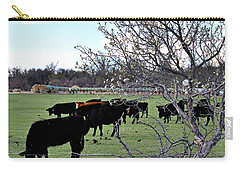Spring In The Hay Meadow Carry-all Pouch