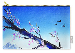 Spring In The Mountains Carry-all Pouch by Irina Sztukowski