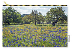 Spring In The Texas Hill Country Carry-all Pouch by Gary Holmes