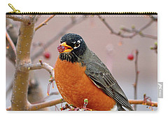 Spring Is Coming Carry-all Pouch by Betty LaRue