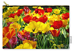 Carry-all Pouch featuring the photograph Spring Is Coming by Nava Thompson