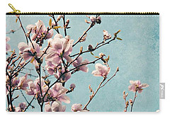 Pink Spring Blossoms Carry-all Pouch