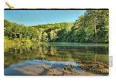 Spring Mill Lake Carry-all Pouch by Adam Jewell