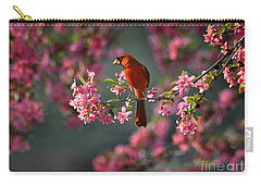 Spring Morning Cardinal Carry-all Pouch